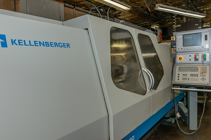 Kellenberger CNC grinding machine.